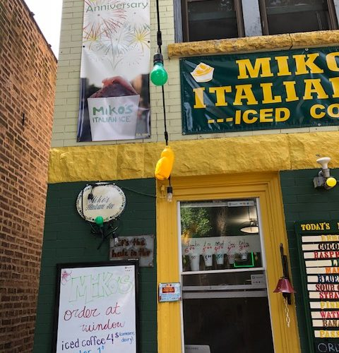 Miko's Italian Ice In Chicago